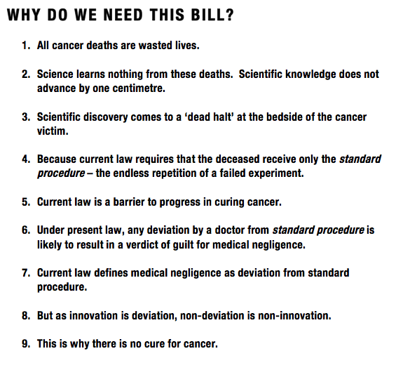 Why do we need this Bill
