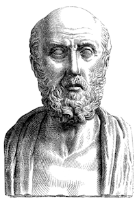 """Hippocrates"". Licensed under Public domain via Wikimedia Commons"